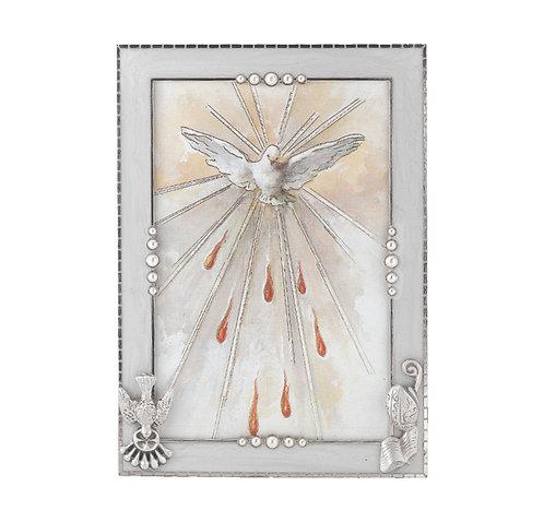 Silver Plated Confirmation Picture Frame