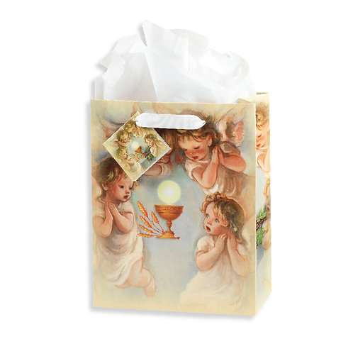 Holy Communion Angels Chalice Gift Bag