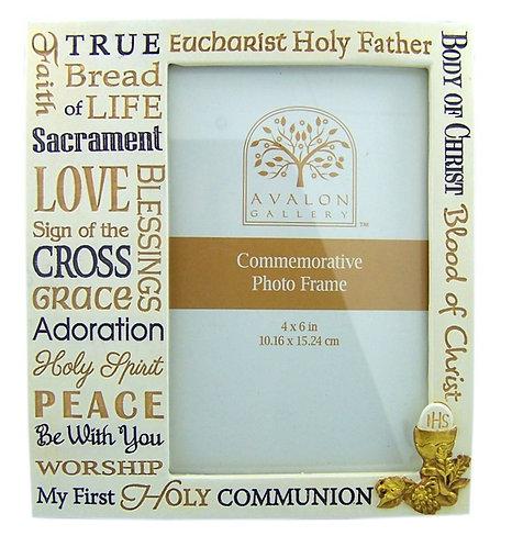 Communion Frame, 4x6 photo