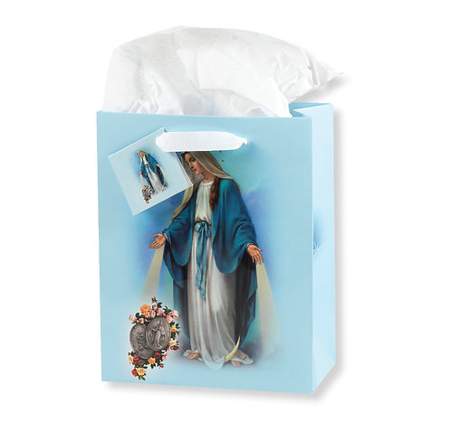 Our Lady of Grace Miraculous Medals Gift Bag