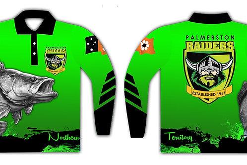 Palmerston Raiders Fishing Shirt