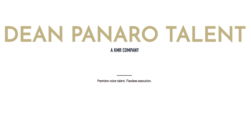Dean Panaro Talent Agency Workout