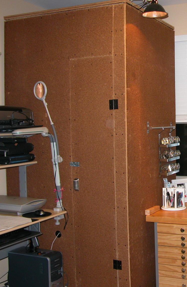 Anne Ganguzza Home Studio BEFORE