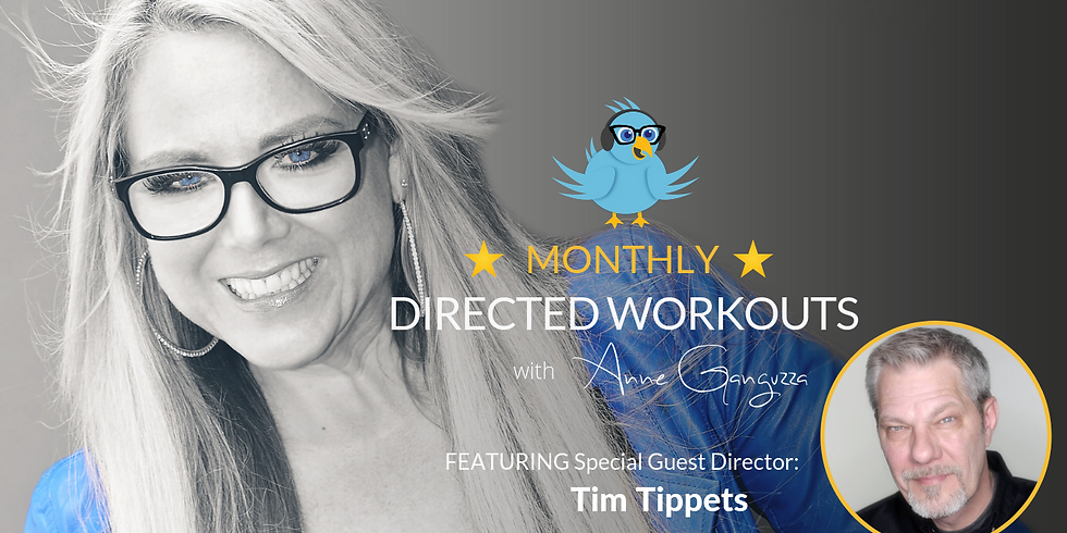 VIPeeps Monthly Directed Workout - April 2019