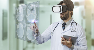 Advanced Technologies and Social Distancing in Healthcare:  VR, AR, AI, and VO!