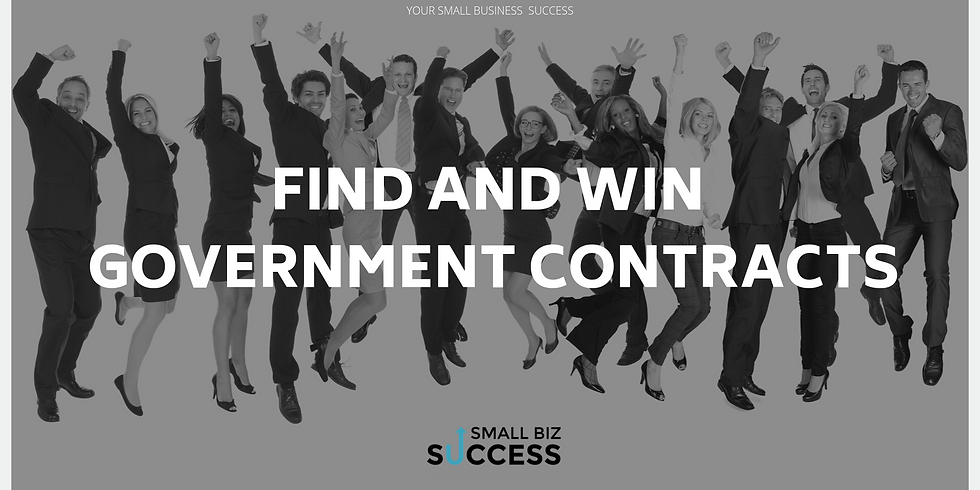 Find and WIN Government Contracts