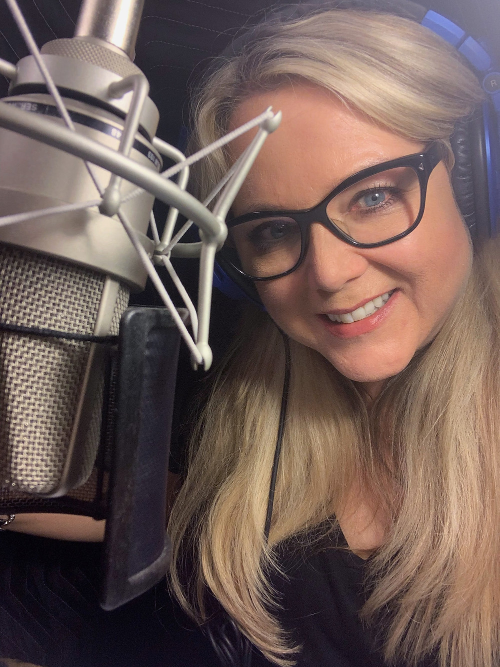 My last selfie in the booth my Dad built (I know, I'm a sentimental girl!)