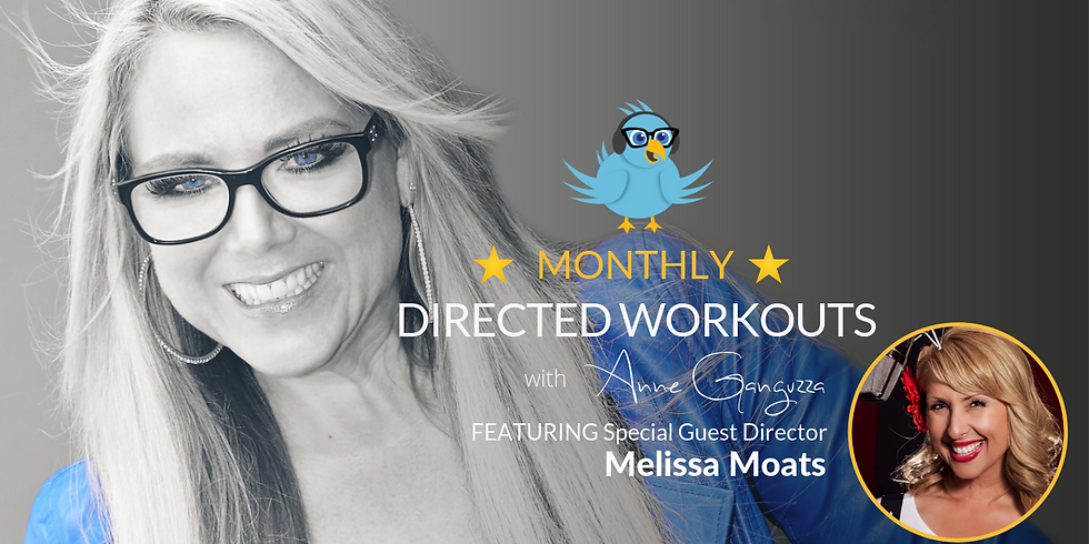 VIPeeps Monthly Directed Workout - August 2019