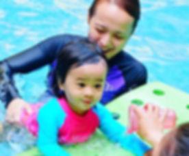 infant private swim lessons