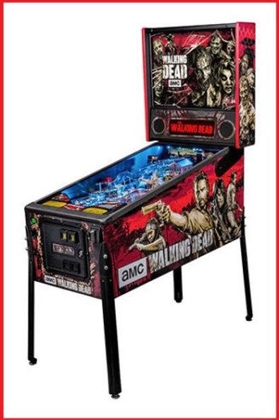 The Walking Dead Pro Pinball Machine-Stern