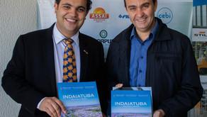 City's Book mostra Indaiatuba em português e inglês para empresas
