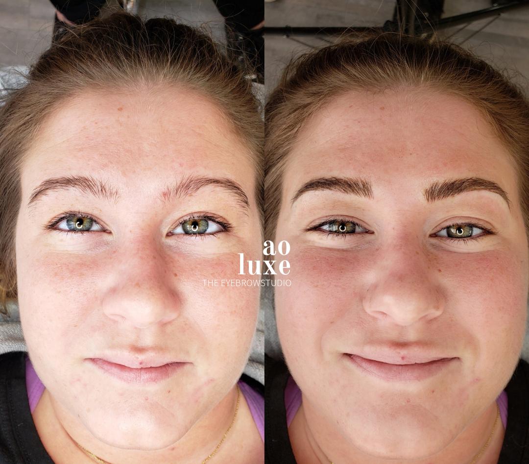 Eyebrow Microblading & Threading   Maine   AO LUXE