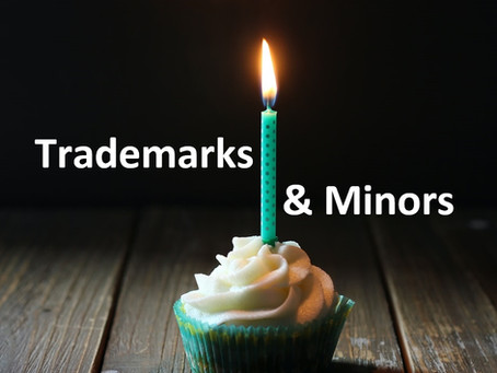 Can a minor register a trademark with the USPTO?