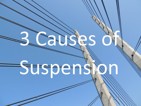 Why do trademark applications get suspended?