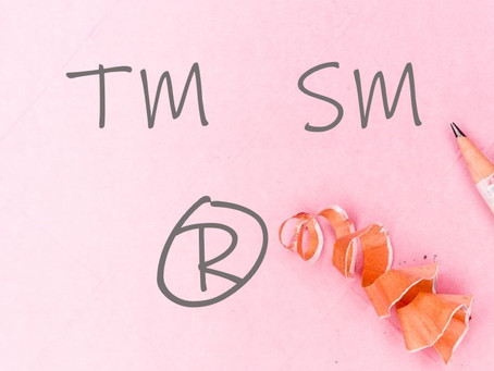 What's the difference between TM, SM and ®?