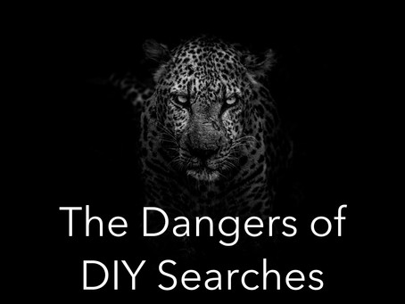 The Dangers of DIY Searches