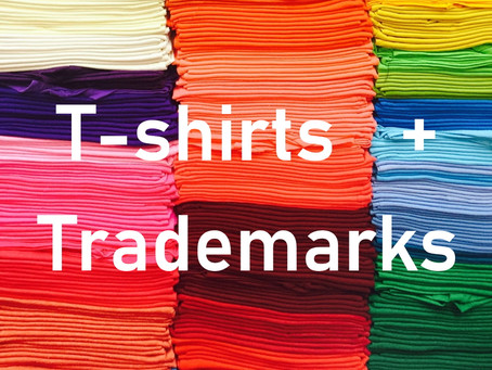 Why is it so hard to register a trademark for use on a t-shirt?