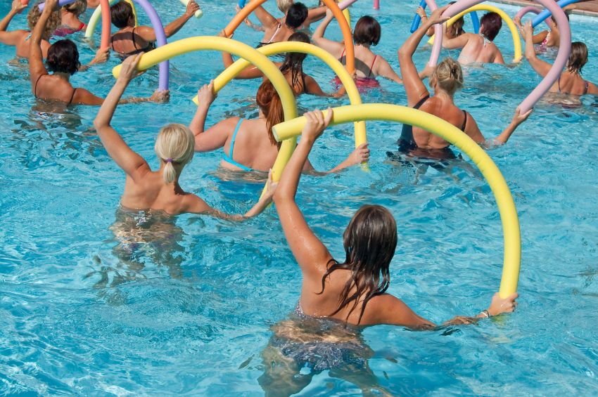 Join us for Aqua Aerobics