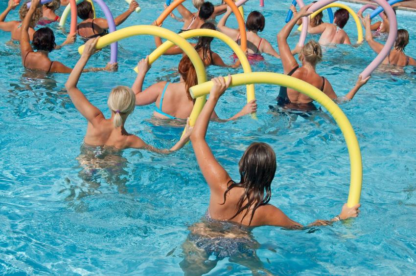Join us for Aqua Aerobics