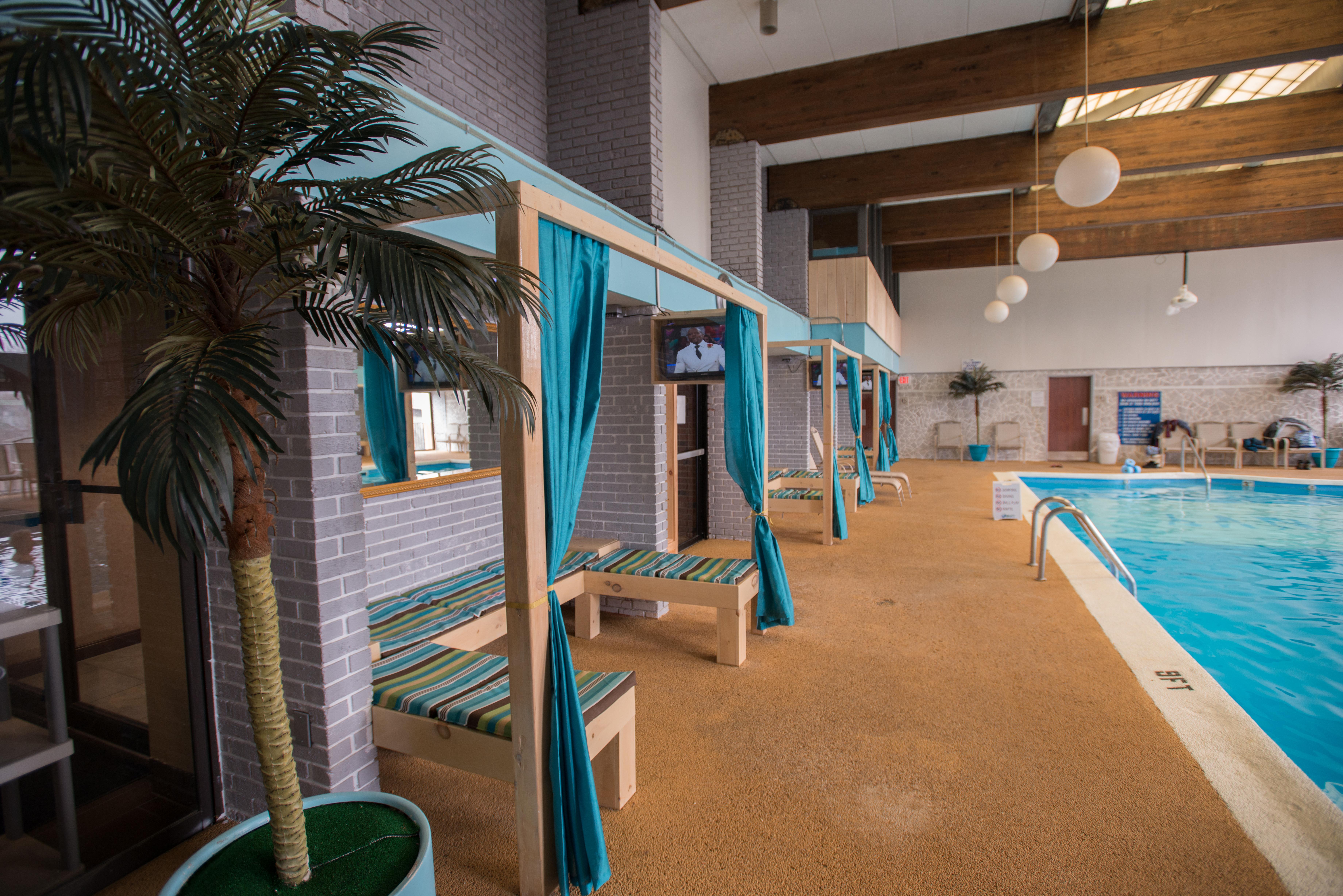 Poolside Cabanas