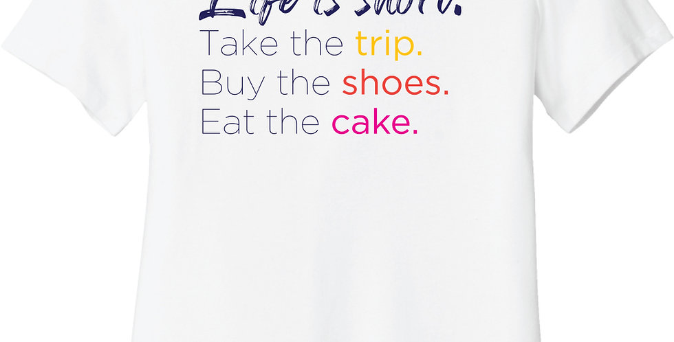 Trip, Shoes, Cake