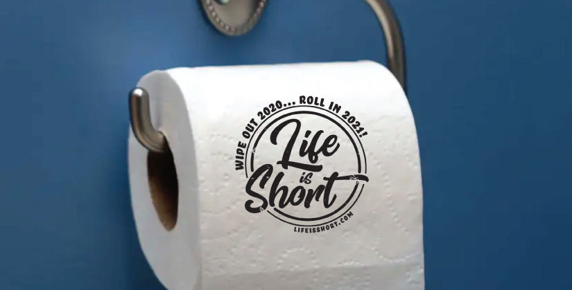 Wipe Out 2020! Toilet Paper