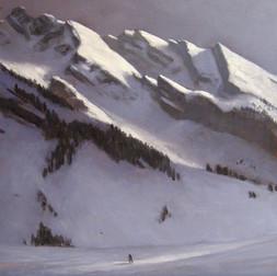 Ski de fond au Confins