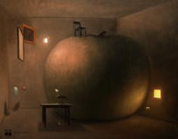 Probablement chez Magritte
