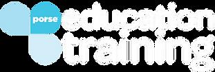 PORSE Education . Training Logo 3-white.