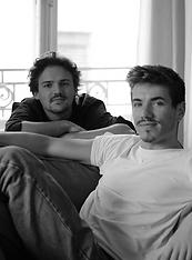 Jules BERGÉ (Left) Maxime MATUSZEZAK (Ri