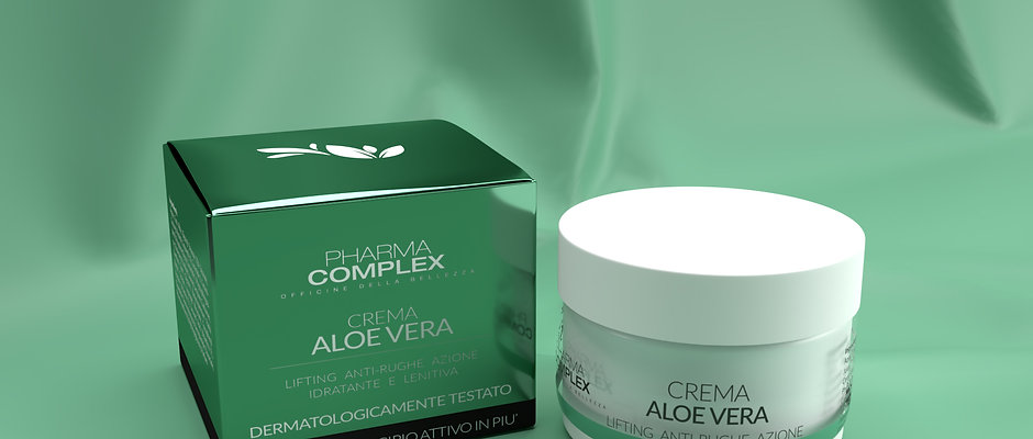 Crema Viso Aloe Vera