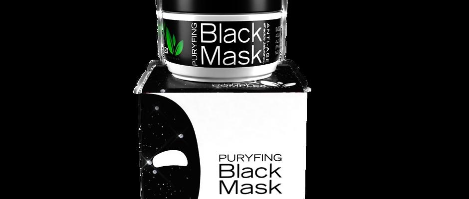MASCHERA VISO BLACK MASK 50ML