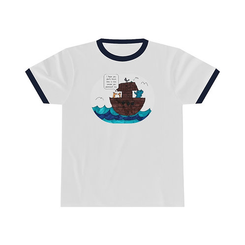 Noah's Cruise — Unisex Ringer Tee