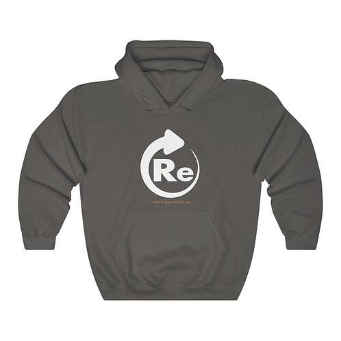 Re — Unisex Heavy Blend™ Hooded Sweatshirt