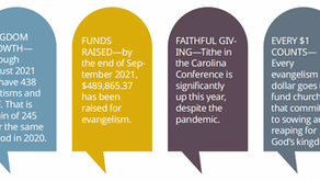 Carolina Evangelism: YEAR END REPORT