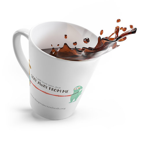 Social Distancing — Latte mug