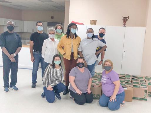 Thanksgiving Teamwork at Raleigh Adventist Church