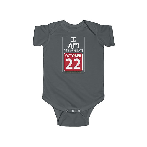 Oct 22 — Infant Fine Jersey Bodysuit