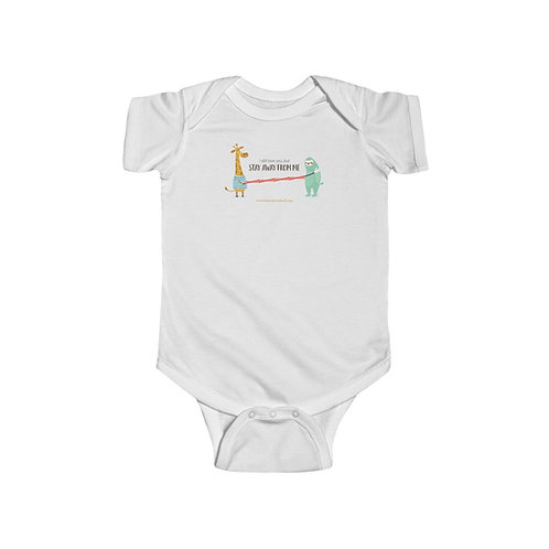 Social Distancing — Infant Fine Jersey Bodysuit