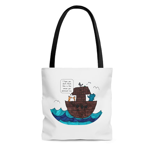 Noah's Cruise — AOP Tote Bag