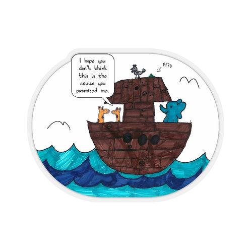 Noah's Cruise — Kiss-Cut Stickers