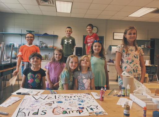 Students Create Day Camp at Asheville-Pisgah Christian School