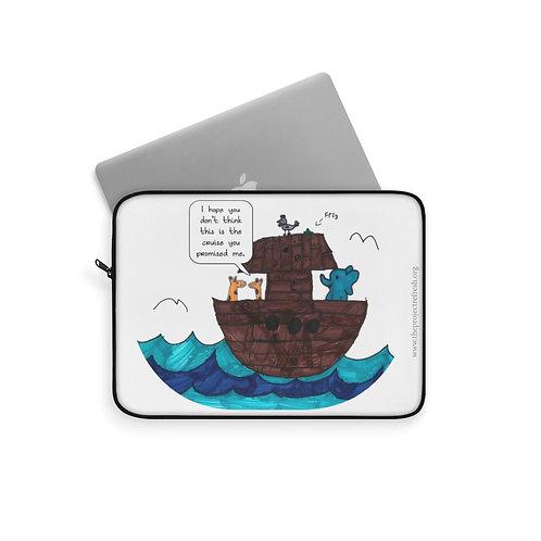 Noah's Cruise — Laptop Sleeve