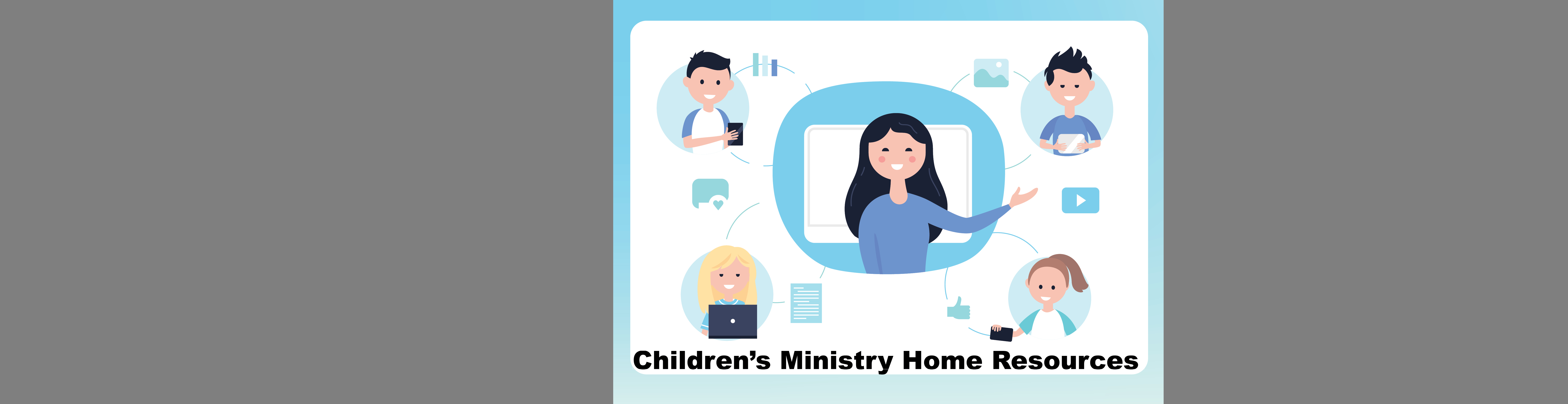 Chrildren's Ministy Web Banner