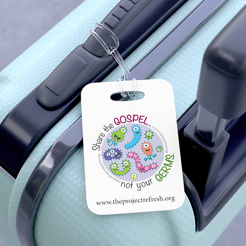 Share the Gospel, Not Your Germs — Bag Tag