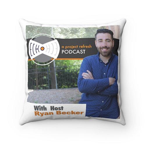 """Ryan Becker """"Echo"""" — Spun Polyester Square Pillow"""