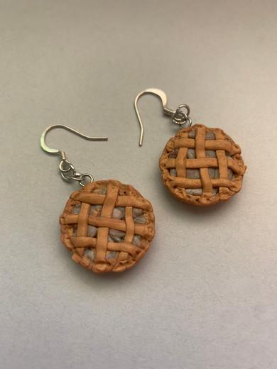 """American Apple Pie Earrings"""