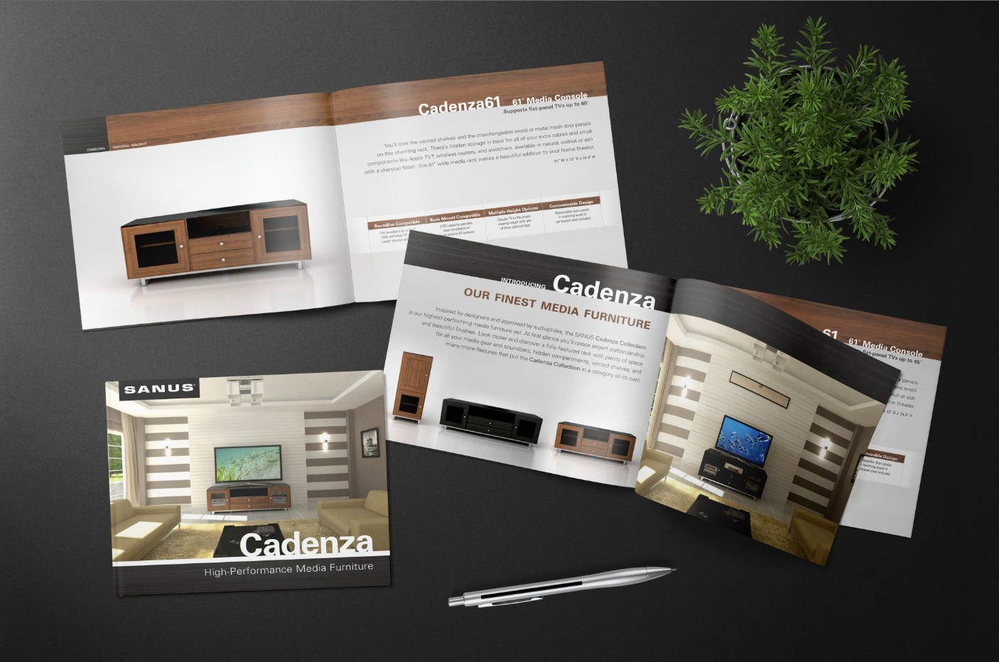 cadenza furniture. sanus cadenza brochure furniture