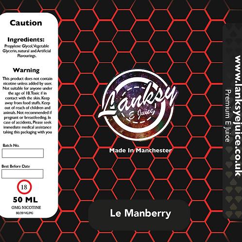 Le Manberry - 50ml