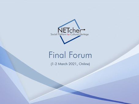Creative School at NETCHER Final Forum